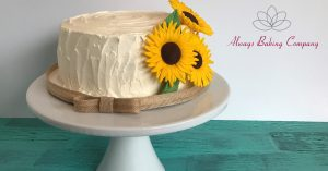 Sunflower Cake for Facebook